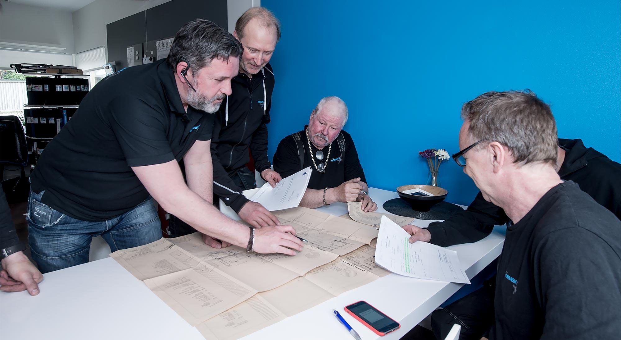 Planering VVS-projekt, Stockholms Rörvision